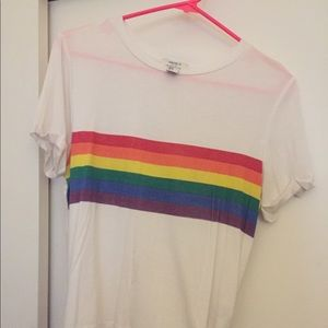 Forever 21 Rainbow Shirt